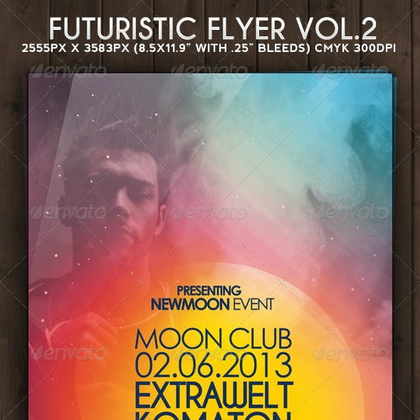 Futuristic Flyer Vol. 2