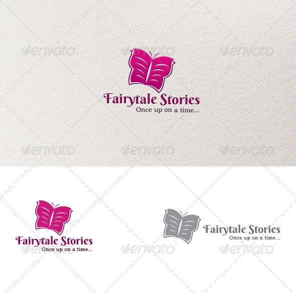 Fairytale Stories Logo - Animals Logo Templates