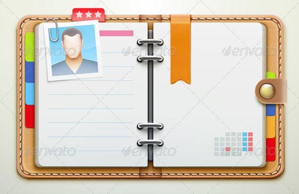 Personal Organizer  - Business Conceptual