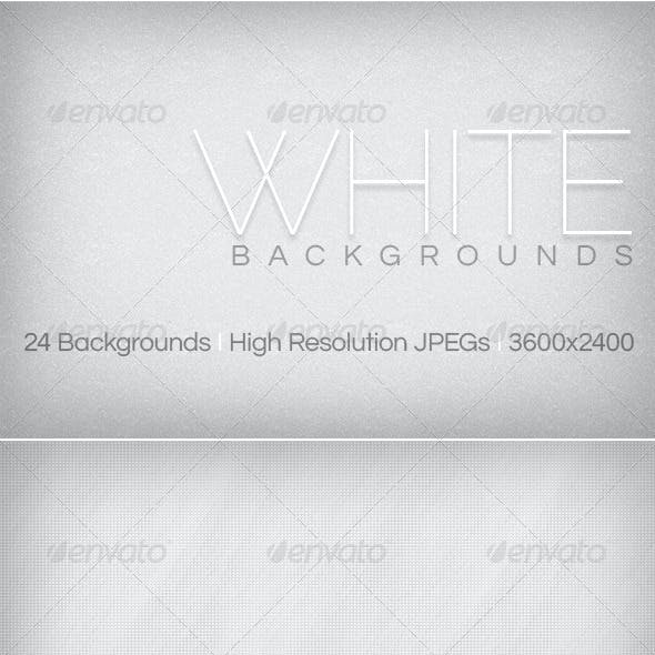 White Backgrounds Collection 1