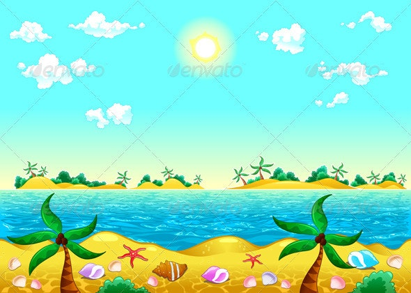 Seashore and Ocean - Landscapes Nature
