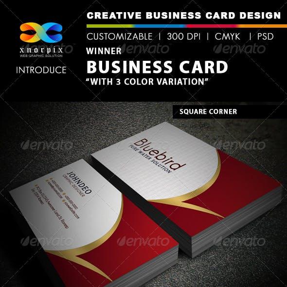 Winner Business Card