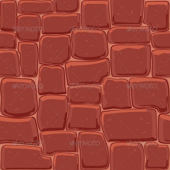 Abstract stone Wall Seamless Background - Backgrounds Decorative