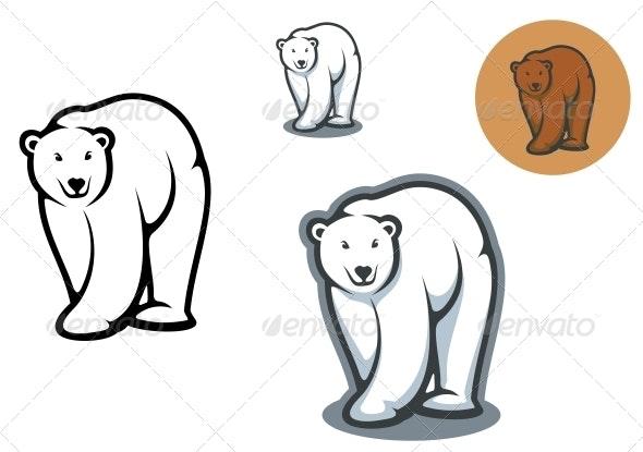 Bear Mascots - Animals Characters