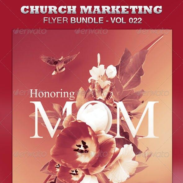 Church Marketing Flyer Bundle-Vol 022