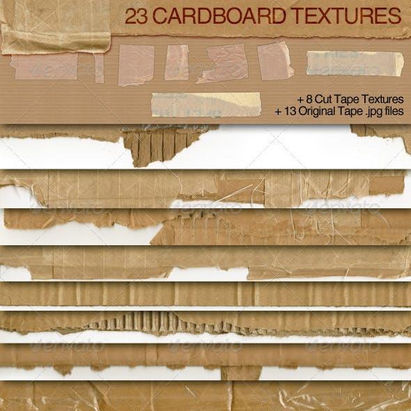 23 Cardboard Textures