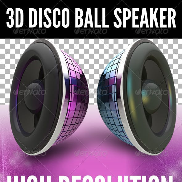 3D Disco Ball Speaker