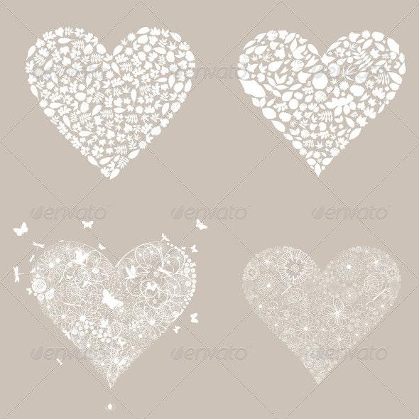 Heart design an element3 - Valentines Seasons/Holidays