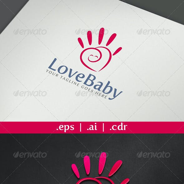 Love Baby Logo