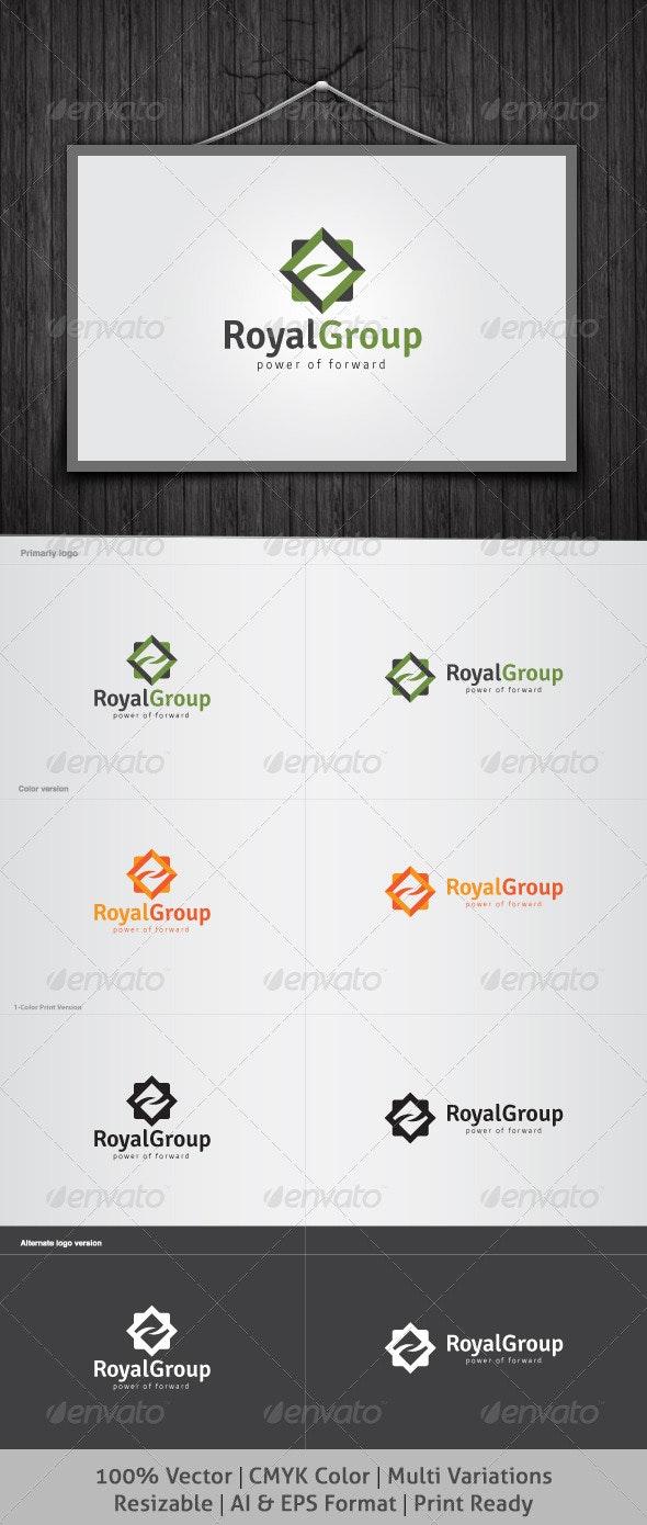 Royal Group Logo - Vector Abstract