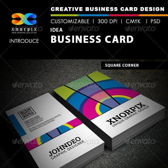 Idea Business Card