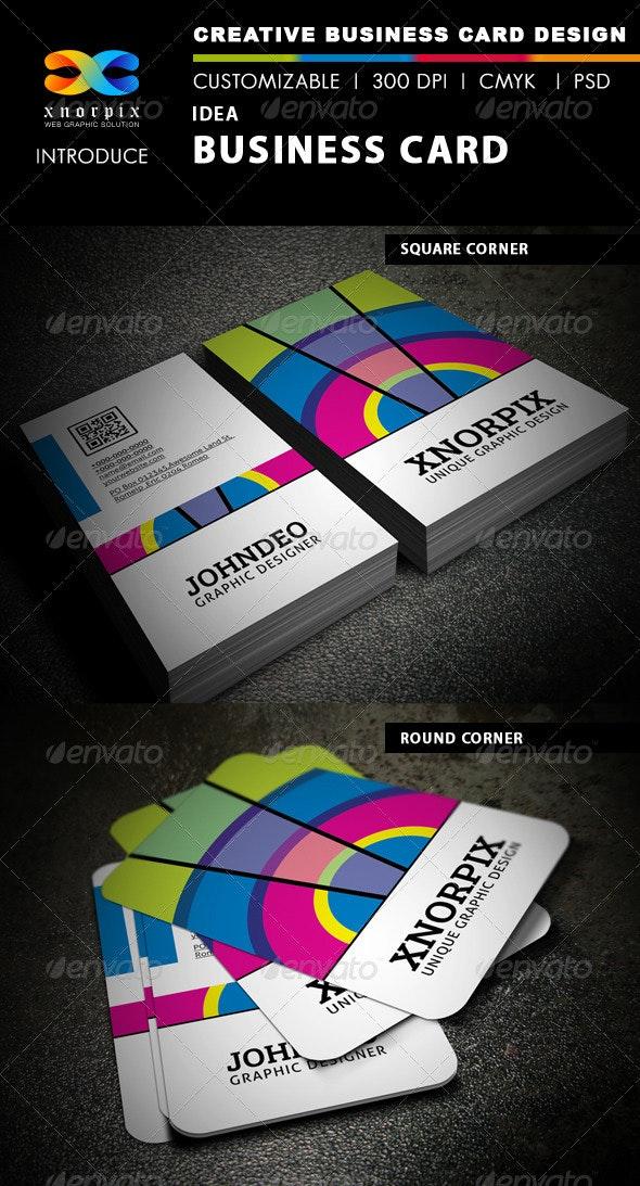 Idea Business Card - Creative Business Cards