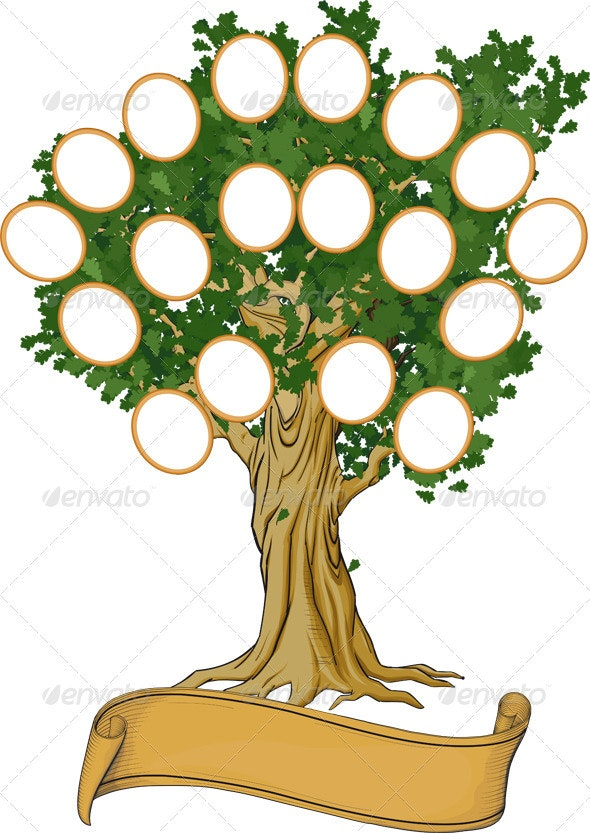Family Tree - Backgrounds Decorative