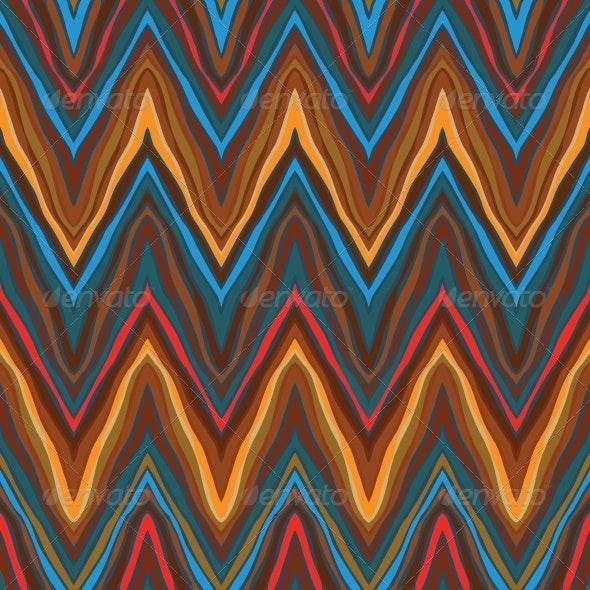 Zigzag Vintage Seamless Pattern