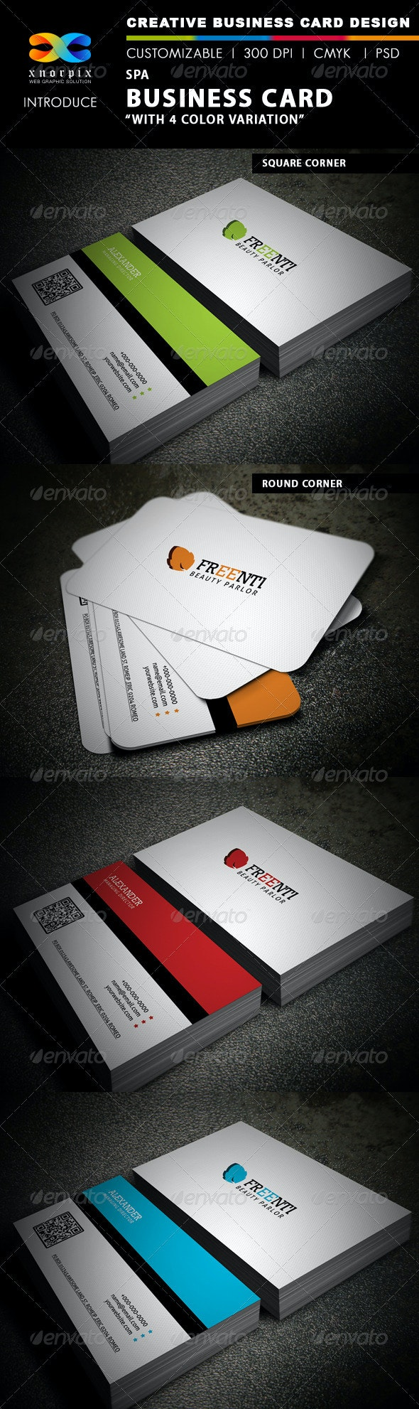 Spa Business Card - Creative Business Cards