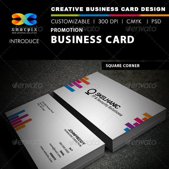 Promotion Business Card