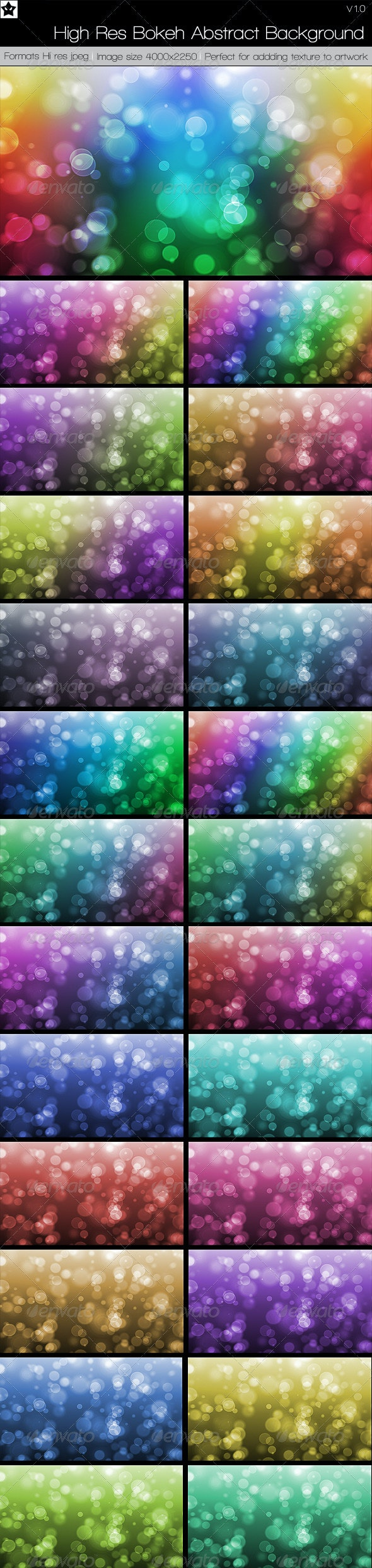 High Res Bokeh Abstract Backgrounds Web 2.0 - Backgrounds Graphics
