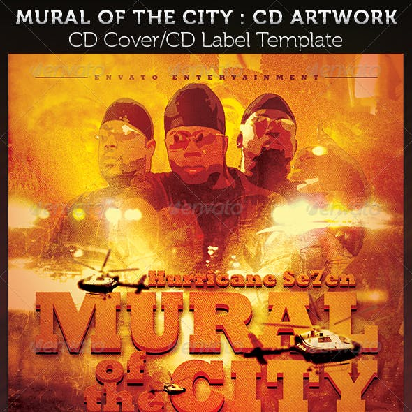 Mural of the City CD Cover Artwork Template