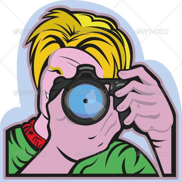 Photographer - Characters Vectors