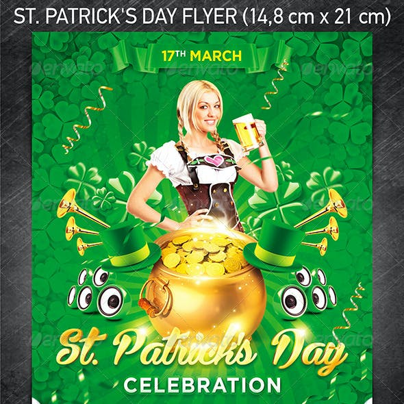 St. Patrick's Day Flyer Vol.2