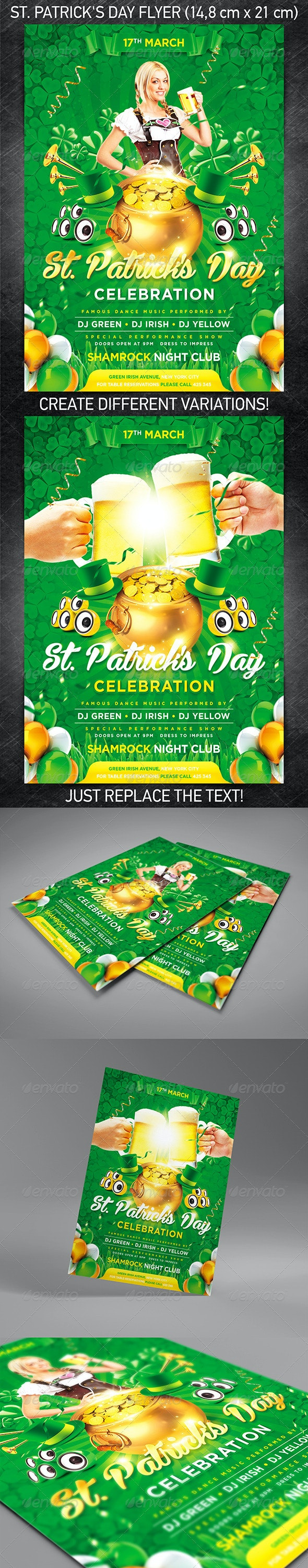 St. Patrick's Day Flyer Vol.2 - Holidays Events
