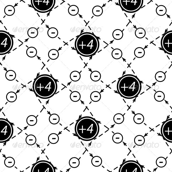 Seamless Pattern of Atom.
