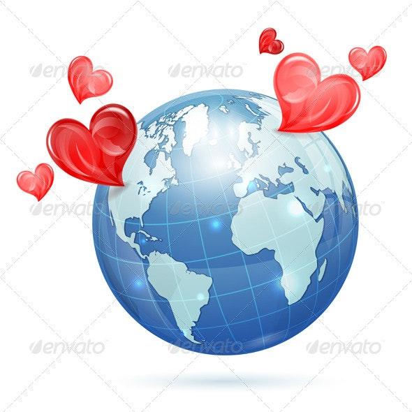 Global Valentines Day - Valentines Seasons/Holidays