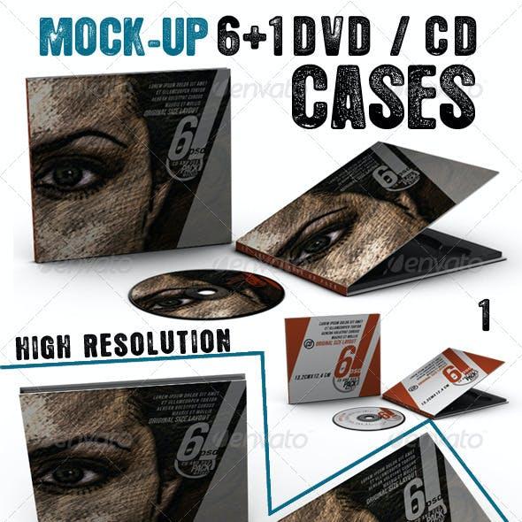 Dvd - Cd Cases Mock Up