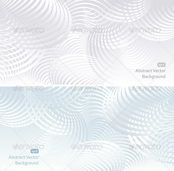 Two light Abstract Background - Backgrounds Decorative
