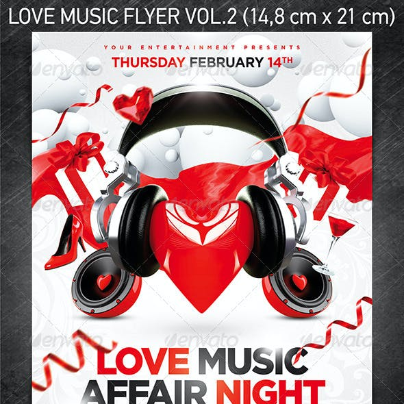 Love music flyer vol.2