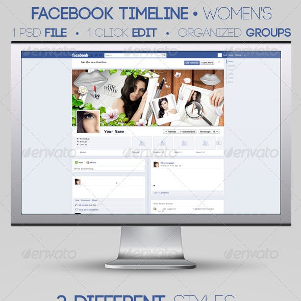 Women's Facebook Timeline Covers