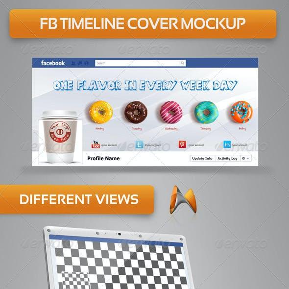 FB Timeline Cover Mock-up