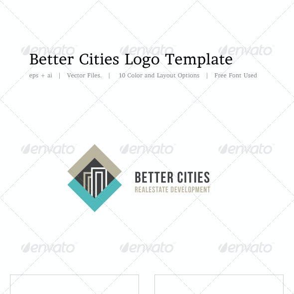 Better Cities Logo Template