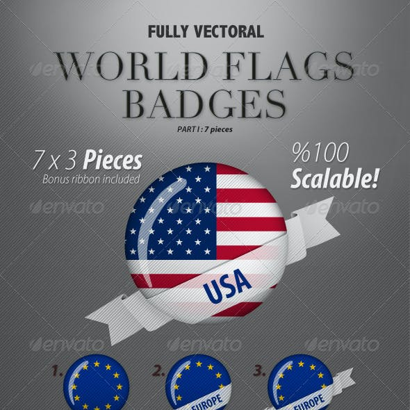 World Flags Part I