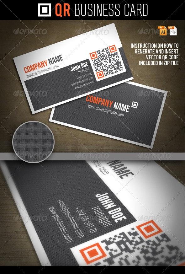 QR Business Card - Creative Business Cards