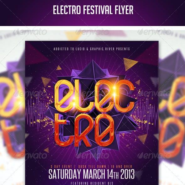 Electro Festival Flyer