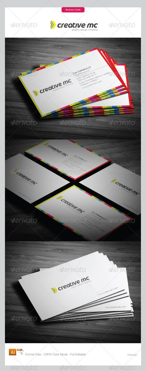 corporate business cards 1971 - Creative Business Cards