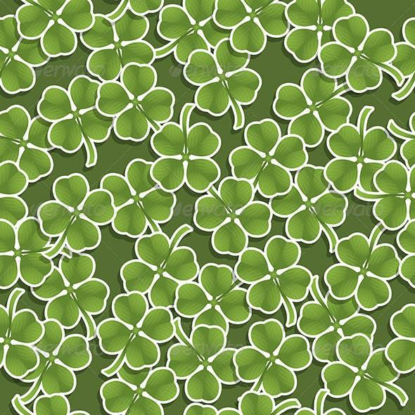 Seamless Shamrock Pattern