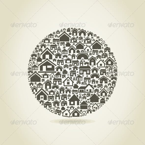 House a sphere