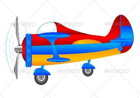 Small plane - Objects Vectors