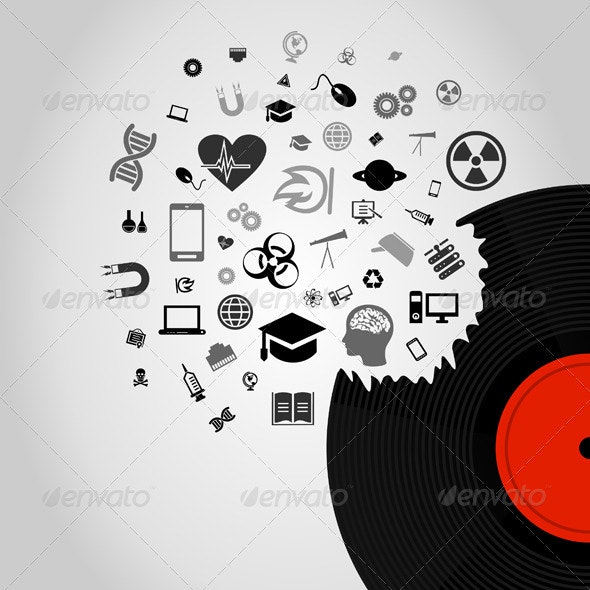 Science Vinyl - Miscellaneous Vectors