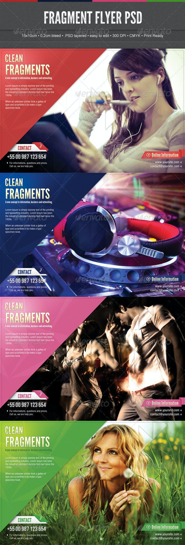 Fragment Flyer - Miscellaneous Events