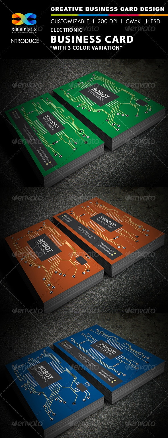 Electronic Business Card - Creative Business Cards