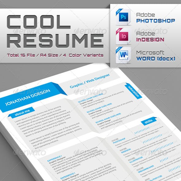 Cool Resume