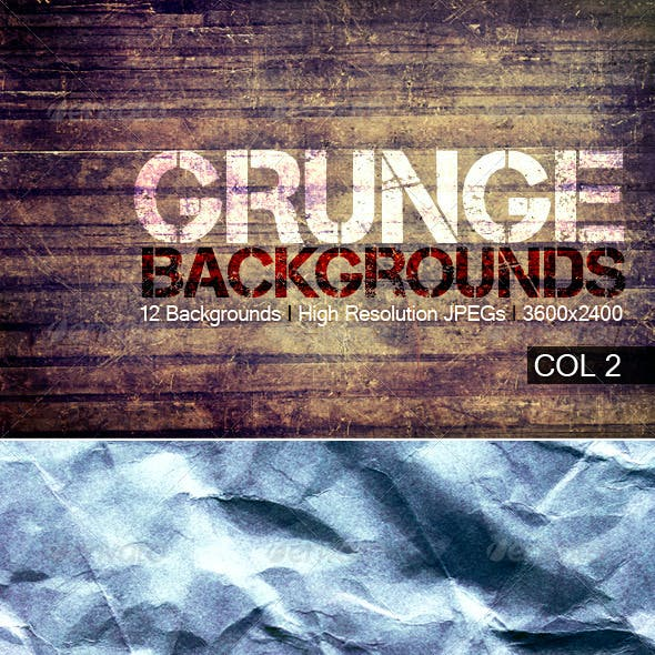 Grunge Backgrounds Col 2