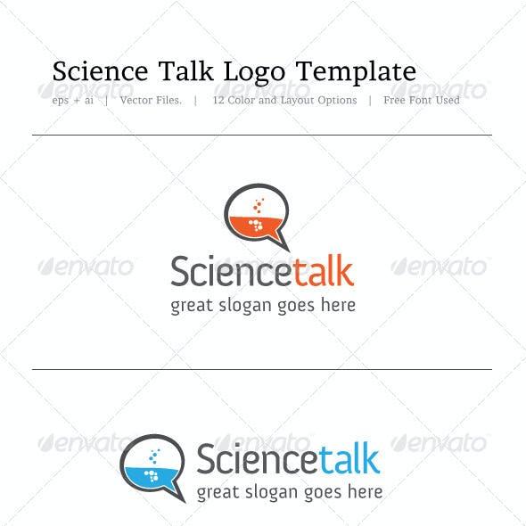 Science Talk Logo