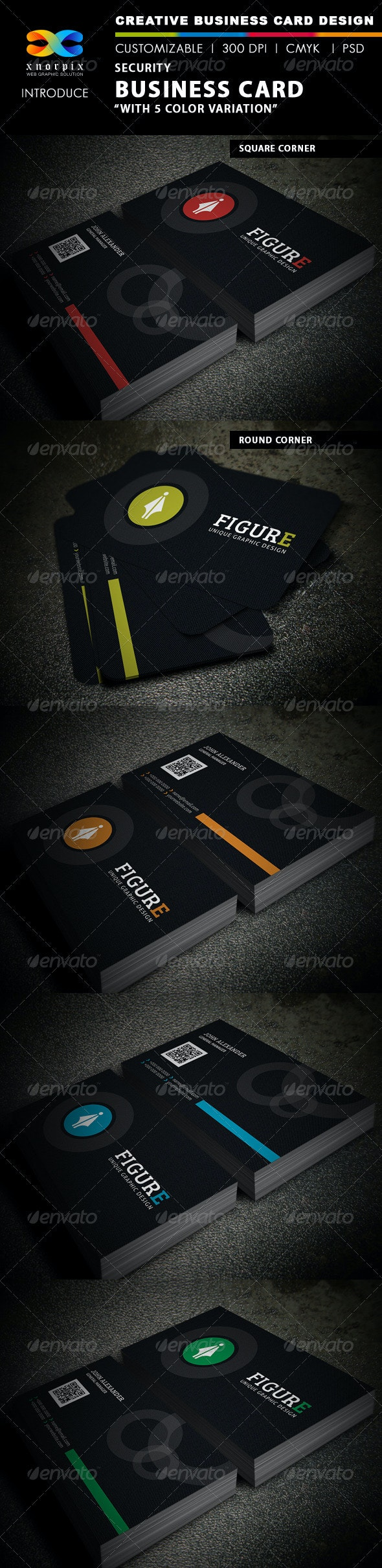 Security Business Card - Creative Business Cards