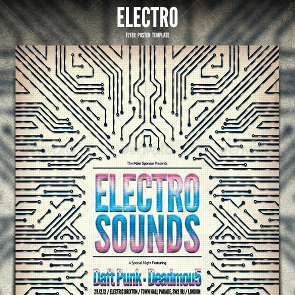 Electro Flyer / Poster