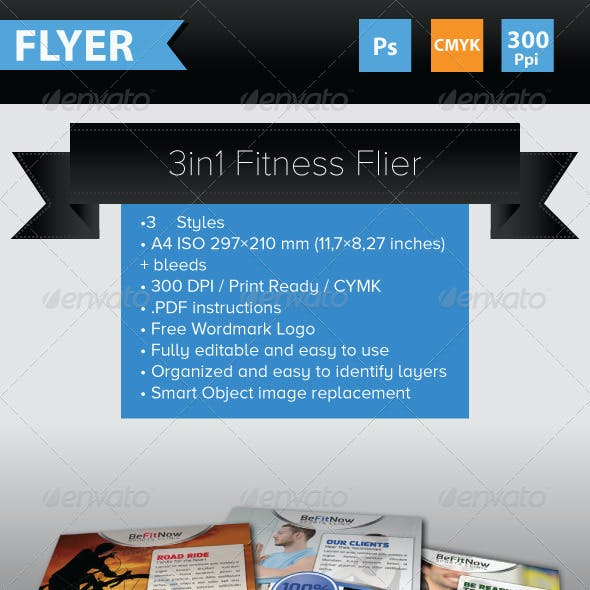 3 in 1 Fitness Flyers