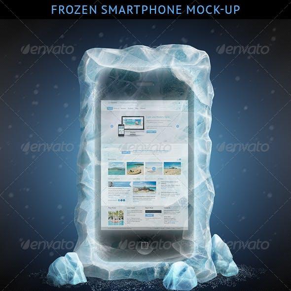 Frozen Smartphone Mockup